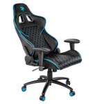 Ігрове крісло 2E Gaming GC23 Black/Blue