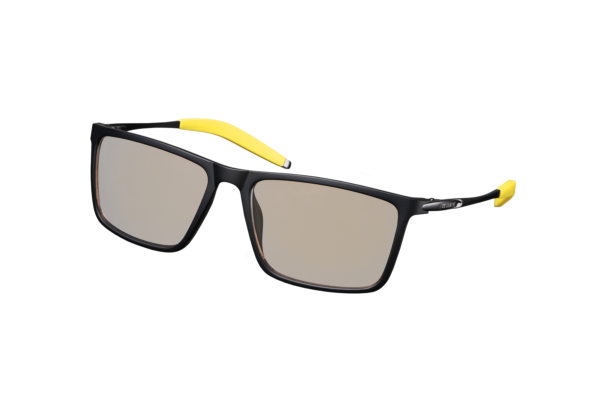 2Е Gaming Anti-Blue Glasses Black-Yellow