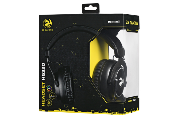Gaming Headset 2E Gaming HG320 Black