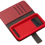 2E Eco Leather Universal Case for smartphones up to 4.5-5″, Red