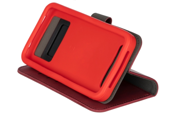 2E Silk Touch Universal Case for smartphones up to 4.5-5″, Сarmine red