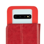 Чехол 2E Eco Leather универсальный для смартфонов с диагональю 5.5-6″, Red