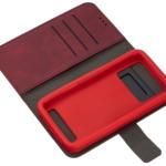 Чехол 2E Silk Touch универсальный для смартфонов с диагональю 5.5-6″, Сarmine red