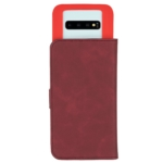 2E Silk Touch Universal Case for smartphones up to 5.5-6″, Сarmine red