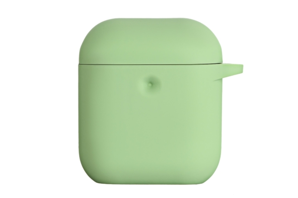 Чехол 2Е для Apple AirPods, Pure Color Silicone (3.0mm), Light green