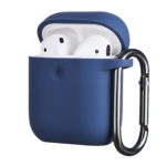 Чехол 2Е для Apple AirPods, Pure Color Silicone (3.0mm), Navy