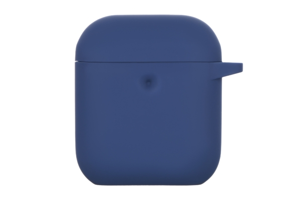 2E earphone case for AirPods, Pure Color Silicone (3.0mm), Navy