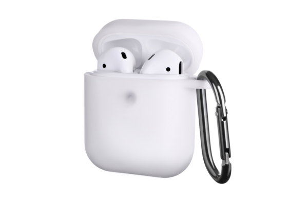 Чохол 2Е для Apple AirPods, Pure Color Silicone (3.0mm), White
