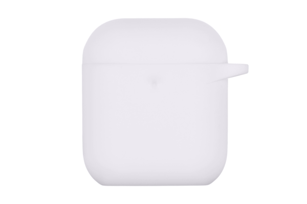 2E earphone case for AirPods, Pure Color Silicone (3.0mm), White