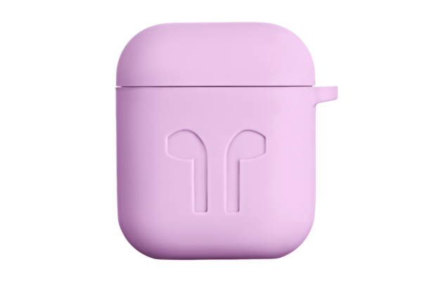 Чехол 2Е для Apple AirPods, Pure Color Silicone Imprint (1.5mm), Lavender