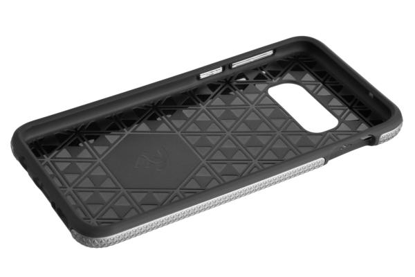 2E Case for Samsung Galaxy S10e, Triangle, Silver