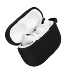 Чохол 2Е для навушників Apple AirPods Pro, Pure Color Silicone (2.5mm), Black