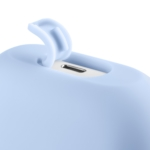 Чохол 2Е для навушників Apple AirPods Pro, Pure Color Silicone (2.5mm), Sky blue