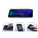 2E 3 in 1 Protective glass set for Samsung Galaxy A01/A40, 2.5D, Clear