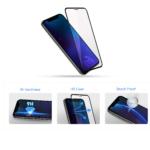 Комплект 2 в 1 защитное стекло 2E для Xiaomi Redmi Note 8T, 2.5D FCFG, Black