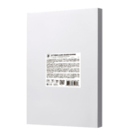 Film for lamination 2E A4, matte surface, 75 micrometres, 100 pcs