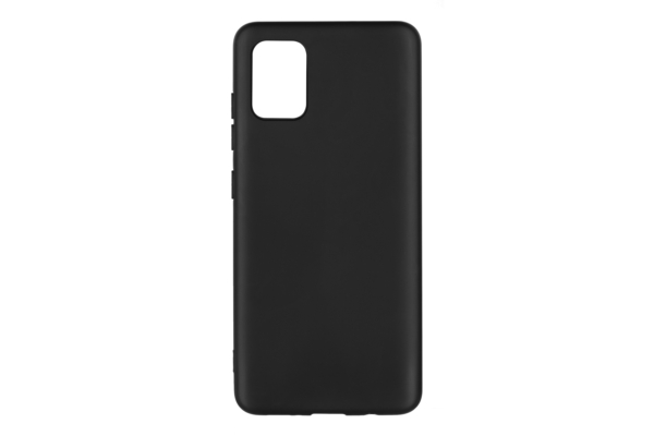 2Е Basic Case for Samsung Galaxy A51 (A515), Soft feeling, Black