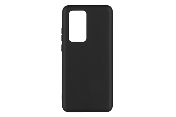 2Е Basic Case for Huawei P40 Pro, Soft feeling, Black