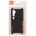 2Е Basic Case for Xiaomi Mi Note 10, Soft feeling, Black