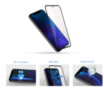 2E 2 in1 Protective glass for Samsung Galaxy Note 10 lite, 2.5D FCFG, black border