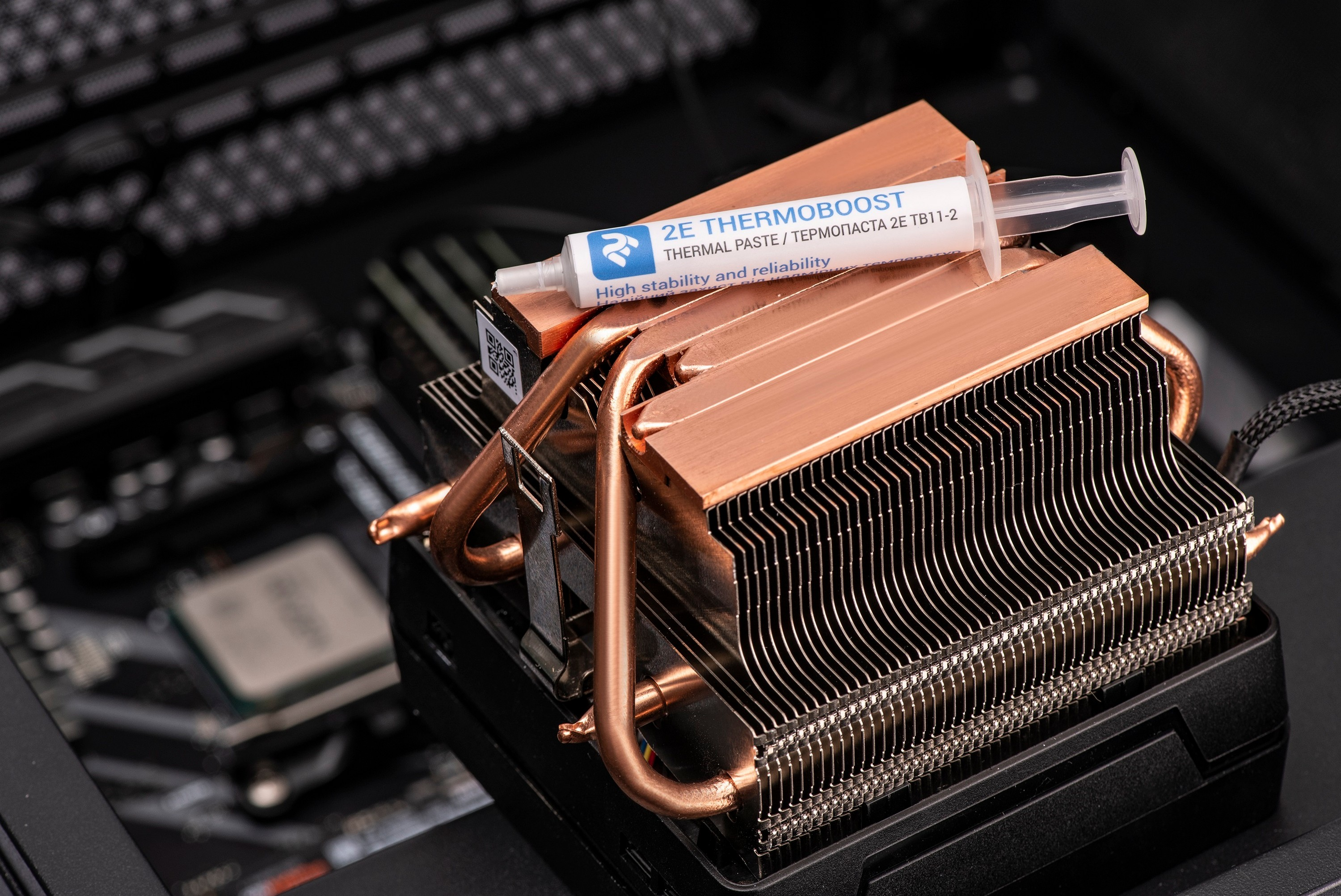 2E THERMOBOOST thermal paste – reliable protection against excessive temperatures