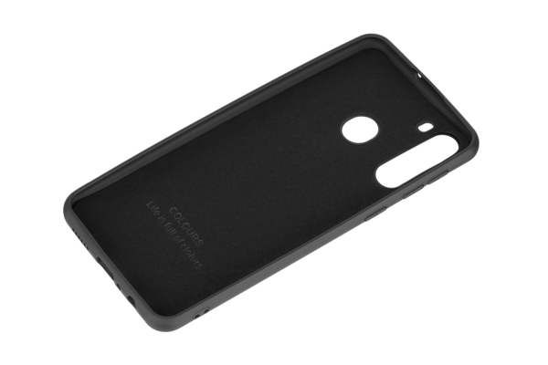 Чехол 2Е Basic для Samsung Galaxy A21, Soft feeling, Black