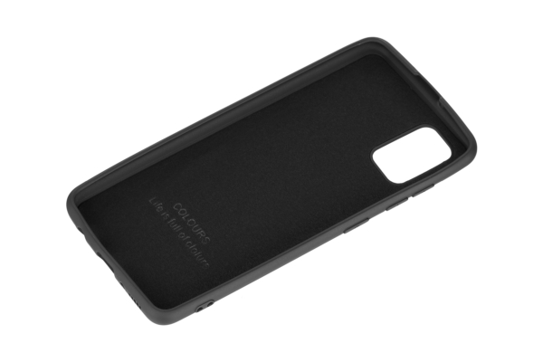 2Е Basic Case for Samsung Galaxy A41, Soft feeling, Black