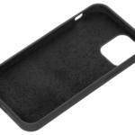 2E Case for Apple iPhone 12 (5.4″), Liquid Silicone, Black