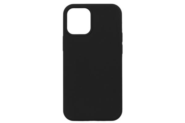 Чехол 2Е для Apple iPhone 12 (5.4″), Liquid Silicone, Black