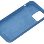 2E Case for Apple iPhone 12 (5.4″), Liquid Silicone, Cobalt Blue