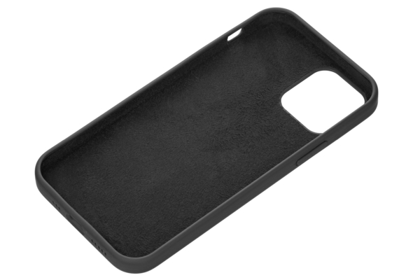 Чехол 2Е для Apple iPhone 12 (6.1″), Liquid Silicone, Black