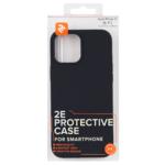 2E Case for Apple iPhone 12 (6.1″), Liquid Silicone, Black