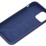 2E Case for Apple iPhone 12 (6.1″), Liquid Silicone, Midnight Blue