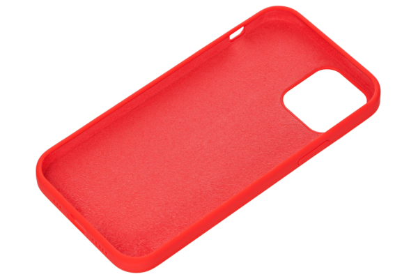 Чехол 2Е для Apple iPhone 12 (6.1″), Liquid Silicone, Red