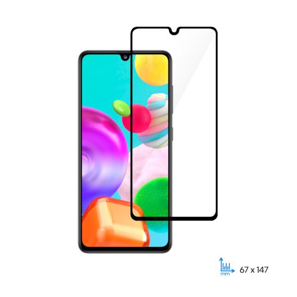 Защитное стекло 2E Basic для Samsung A41(A415F), 2.5D FCFG, black border