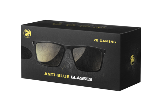 Защитные очки 2E Gaming Anti-blue Glasses Black-Black