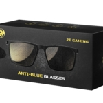 2E Gaming Anti-blue Glasses Black-Red