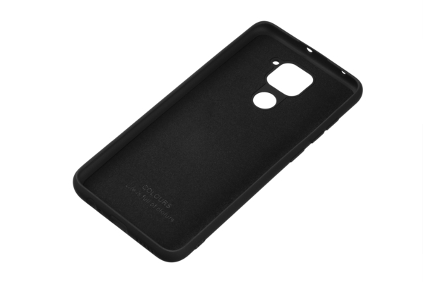 Чохол 2Е Basic для Xiaomi Redmi Note 9, Soft feeling, Black