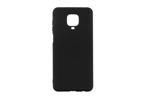 Чехол 2Е Basic для Xiaomi Redmi Note 9 Pro, Soft feeling, Black