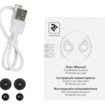 Наушники 2E RainDrops Light True Wireless, White