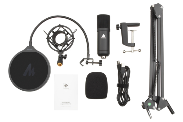 Мікрофон з пантографом для ПК Maono by 2Е MPC011