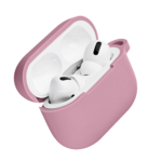 2Е earphone case for Apple AirPods Pro, Pure Color Silicone (2.5mm), Pink