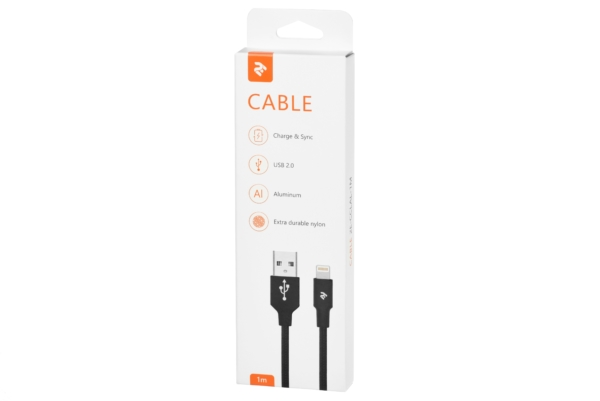 Кабель 2E Lightning Alumium Shell Cable