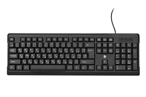 Клавиатура 2E KS 104 USB Black