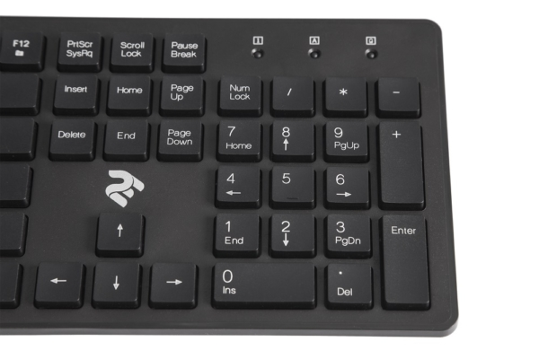 Клавіатура 2E KS 101 Slim WL Black