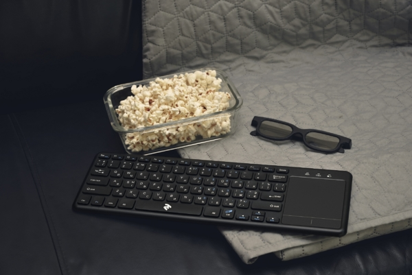 Клавиатура с тачпадом 2E KT100 WL Black