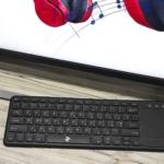 Клавіатура з тачпадом 2E KT100 WL Black