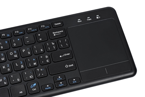 Keyboard with touchpad 2E KT100 WL Black