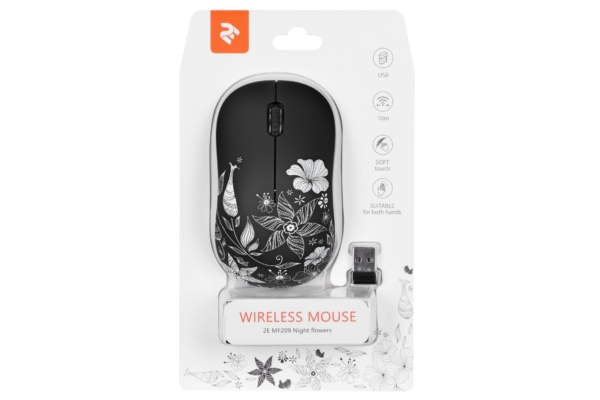 Миша 2E MF209 WL Night Flowers