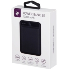 Power Bank 2E 10000 mAh Black